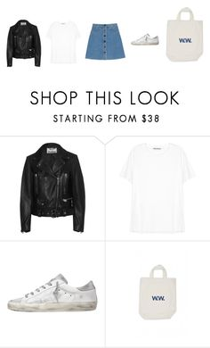 """""""Untitled #3368"""" by memoiree ❤ liked on Polyvore featuring Acne Studios, STELLA McCARTNEY and Golden Goose"""