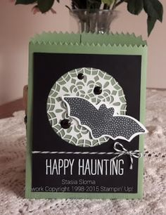 Stampin' & Scrappin' with Stasia - SU -  Mini Treat Bag Thinlits, Among the Branches, & Cheer All Year stamp sets