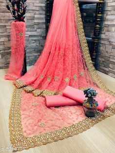 Checkout this latest Sarees Product Name: *Jivika Refined Net Sarees* Sizes:  Free Size (Saree Length Size: 5.5 m, Blouse Length Size: 0.8 m)  Country of Origin: India Easy Returns Available In Case Of Any Issue   Catalog Rating: ★4 (19666)  Catalog Name: Jivika Refined Net Sarees CatalogID_779255 C74-SC1004 Code: 488-5256771-2652