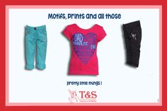Cute Prints for Cute Ones! ‪ #‎kidswear‬ ‪#‎talesandstories‬