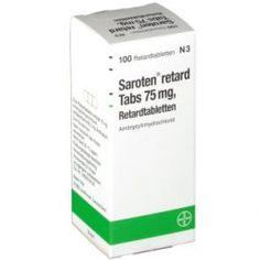 Saroten retard Tabs 75 mg, Retardtabletten