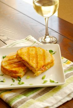 Ham and Gruyere Panini by asweetpeachef #Panini #Ham #Gruyere