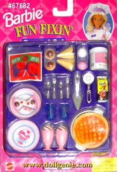 barbie fun fixin dessert set
