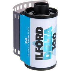 Ilford Delta-100 Professional 135-24 Black & White Print Film (ISO-100)