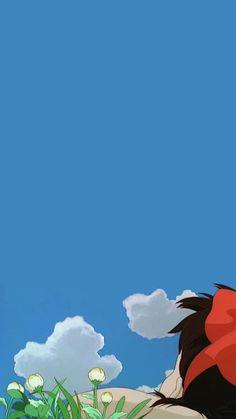 Aesthetic Wallpaper Love 65 Ideas For 2019 Wallpaper Animes, Kawaii Wallpaper, Animes Wallpapers, Cartoon Wallpaper, Cute Wallpapers, Studio Ghibli Art, Studio Ghibli Movies, Hayao Miyazaki, Totoro