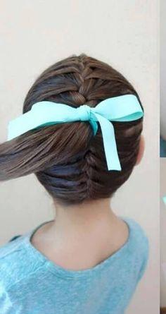Little girls hair do
