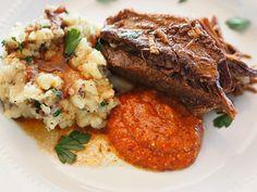 Tujagues Beef Brisket with Creole horseradish sauce. Serious good eats...