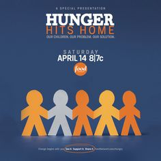 Check out Hunger Hits Home — a new documentary about childhood hunger in America premiering April 14 at 8pm/7c on Food Network. In this 1-hour special we take a first-hand look at the crisis of childhood hunger in America through the eyes of the parents, children, activists, educators & politicians on the frontlines of the battle. The program is presented by Food Network & Share Our Strength's No Kid Hungry Campaign. Change begins with you. See it. Share it. Support it. Foodnetwork.com/hungr...