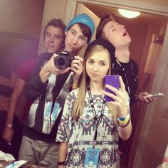 ricky dillon + connor franta + thats so jack + jennxpenn
