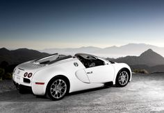 Bugatti Veyron Grand Sport - top ten most expensive cars in the world 2011 Bugatti Veyron, Bugatti Cars, Ferrari Car, Most Expensive Car, Supersport, Performance Cars, Car In The World, Amazing Cars, Awesome