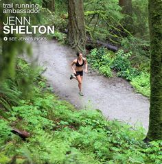 Trail Running Ambassador for Patagonia, Jenn Shelton