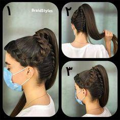 بافت دم اسبی بافت هلندی کف سری Chignon Hair, Earrings, Fashion, Ear Rings, Moda, Stud Earrings, Fashion Styles, Ear Piercings, Ear Jewelry