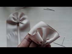 How to make a butterfly from a ribbon 🎀 Bows 🎀 for hair - Free Online Videos Best Movies TV shows - Faceclips Ribbon Hair Bows, Diy Hair Bows, Diy Bow, Ribbon Flower Tutorial, Hair Bow Tutorial, How To Make Hair, How To Make Bows, Making Hair Bows, Hair Beads