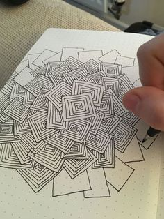 doodles drawings ~ doodles + doodles easy + doodles drawings + doodles for bullet journal + doodles zentangles + doodles art + doodles easy simple + doodles aesthetic Doodles Zentangles, Zentangle Drawings, Doodle Drawings, Easy Drawings, Unique Drawings, Zentangle Art Ideas, Easy Zentangle Patterns, Mandala Pattern, How To Zentangle