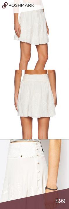 Anthropologie Flare Skirt Summery skirt; brand is Harlyn. Purchased at Anthropologie. Anthropologie Skirts