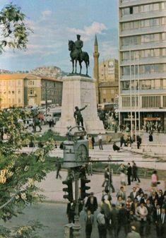 Ulus 1973 Nostaljik Ankara Fotoğrafları 1950-1980 ler