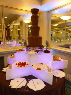 Chocolate Fountain at 2014