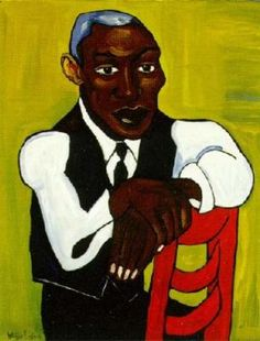 Man In A Vest by William Johnson