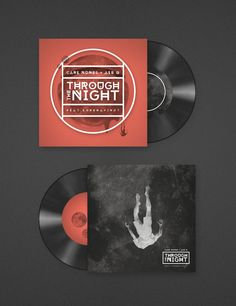 "Carl Nunes + Ale Q ""Through The Night"" Single Cover by Jorge Letona, via Behance"