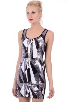 Bodycon Dress Parties, Party Dress, Women's Fashion, Fashion Outfits, Athletic Tank Tops, Sequins, Clothes, Dresses, Vestidos