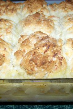 Kittencal's Chicken Crescent Roll Casserole. Use reduced fat crecent rolls, cheese and cr of chicken soup for healthier recipe.