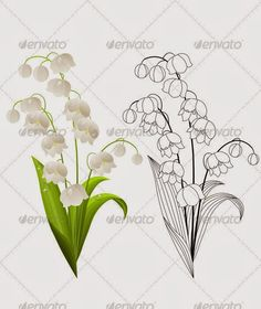 Lily of the valley tattoos ideas images | Like Tattoo