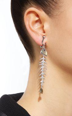 Luz Camino  Scrapes Sardines Earrings