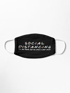 Social Distancing, I will be there for you from 6 feet away Mask / Reusable, Washable And High-Quality Face Mask. Diy Mask, Diy Face Mask, Face Masks, Homemade Facial Mask, Homemade Facials, Face Cleaning Routine, Homemade Spa Treatments, Mouth Mask Design, Nose Mask
