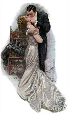 """""""The Kiss"""" circa 1909"""