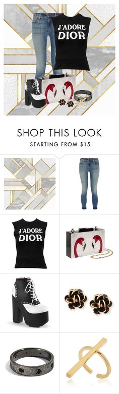 """""""Trend-setter"""" by ggmusicista on Polyvore featuring J Brand, Christian Dior, Chantecler and Schield Collection"""