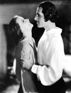 Greta Garbo and John Gilbert   by Vintage-Stars
