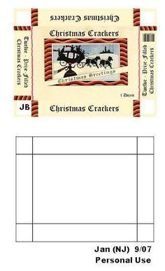 mini christmas printable - apologies for not having it linked to the original site - will need to look it up | Source: ?