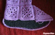 Ideas para el hogar: Botas tejidas
