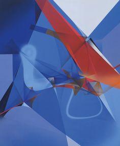 RAPHAEL BORER AND LUKAS OBERER - UNTITLED - ARTSTÜBLI  http://www.widewalls.ch/artwork/raphael-borer-and-lukas-oberer/untitled-43/ #painting
