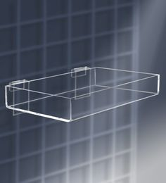 Exceptional Gridwall Acrylic Accessories   8 Inch X 12 Inch Display Tray For Gridwall
