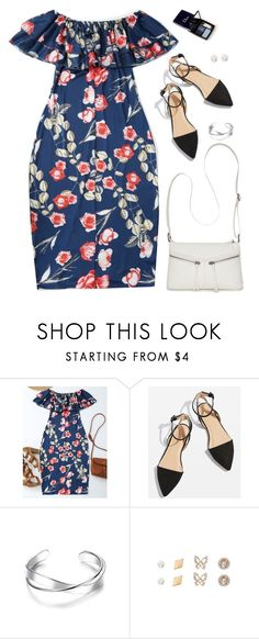 """ootd"" by justkejti ❤ liked on Polyvore featuring Topshop, Bueno, floraldress, zaful and showsomeshoulder"