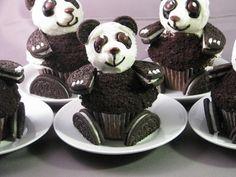 postre oreo panda!