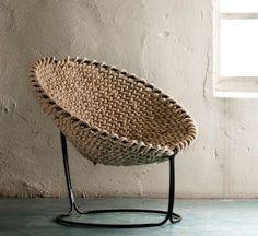 17 yarn inspired chairs | Deco Friday | WearitCrochet