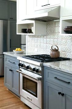 Best 31 Best Blue Gray Kitchen Cabinets Images Kitchen 400 x 300