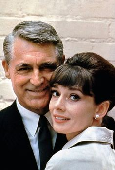 Rare Audrey Hepburn — Audrey Hepburn and Cary Grant photographed by...