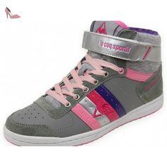 9dd940f1424 Le coq sportif bailie mid sr chaussures mode femme gris Le Coq Sportif T 40