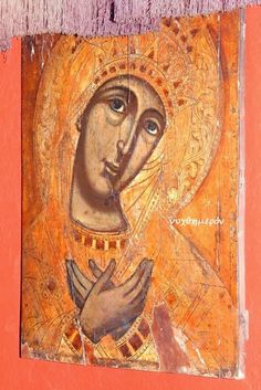 ΝΥΧΘΗΜΕΡΟΝ: 14η Παναγία της Ζακύνθου Blessed Virgin Mary, Orthodox Icons, Painting, Art, Painting Art, Paintings, Kunst, Paint, Draw