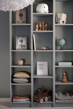 A collection of baby furniture, bedding, toys and more for calmingly minimal family homes. Inspired by the idea that family living can be stylish living. Rooms Home Decor, Baby Room Decor, Bedroom Decor, Shelves In Bedroom, Bedroom Storage, Diy Kids Furniture, Baby Boy Rooms, Kid Spaces, Bellisima