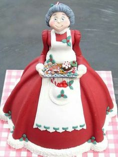 Mrs. Claus doll. Very cute.