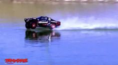 Watch Traxxas RC CAR is so fast it can drive on WATER - Extreme ...