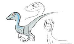 Have some raptor fun! Dinosaur Drawing, Dinosaur Art, Jurrassic Park, Jurassic World 2015, Vader Star Wars, Avatar, Animal Drawings, Drawing Animals, Reptiles And Amphibians