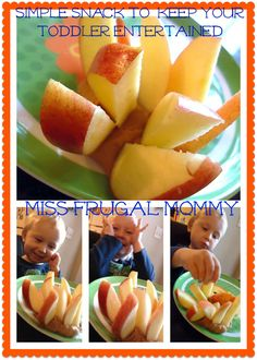 Simple Snack to Keep Your Toddler Entertained