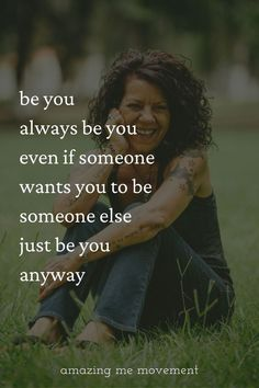 It's important to be authentic when everyone around you is pretending they are someone they aren't. Just be yourself always and you will gain respect and have more self respect and self confidence too!