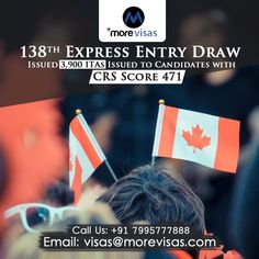 Authorities of Canada immigration have managed a new Federal Express Entry draw and announced Invitations to Apply for Canada PR.