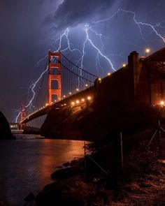 National Geographic, Ponte Golden Gate, Golden Gate Bridge, Lightning Photography, Nature Photography, Photography Tips, Landscape Photography, Portrait Photography, Wedding Photography